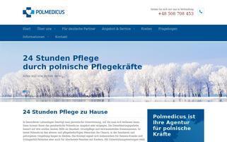 Pflege-Alexander Webseiten Screenshot