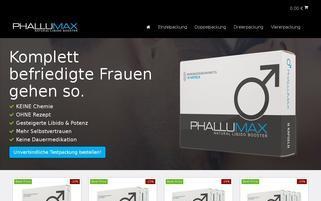 phallumax.de Webseiten Screenshot