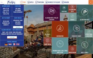 Phantasialand Webseiten Screenshot