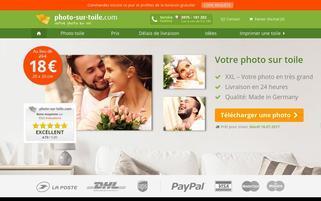 photo-sur-toile.com Webseiten Screenshot