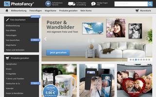 PhotoFancy Webseiten Screenshot