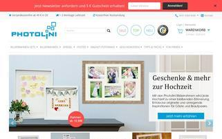 Photolini Webseiten Screenshot