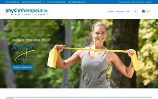 Physiotherapeut.de Webseiten Screenshot