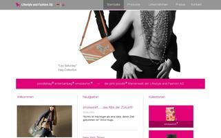 pinkpoodleshop.de Webseiten Screenshot