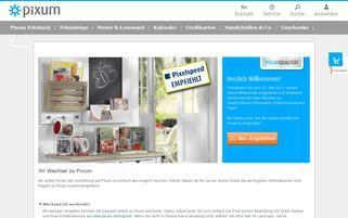 pixelspeed.com Webseiten Screenshot