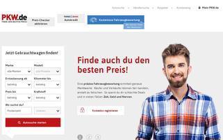 pkw.de Webseiten Screenshot