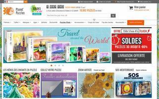 planet-puzzles.com Webseiten Screenshot