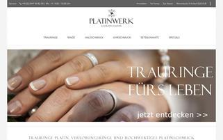 Platinwerk Webseiten Screenshot
