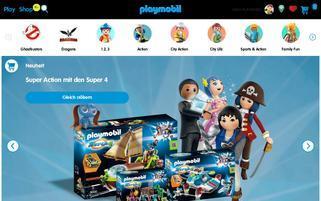 Playmobil Webseiten Screenshot
