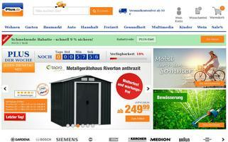 Plus Webseiten Screenshot