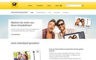 Plusbrief Webseiten Screenshot