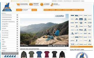 PM Outdoor Webseiten Screenshot