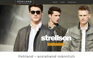 Pohland Webseiten Screenshot