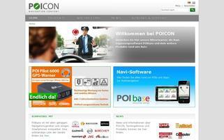 POICON Webseiten Screenshot