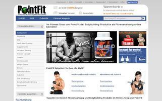 PointFit Webseiten Screenshot