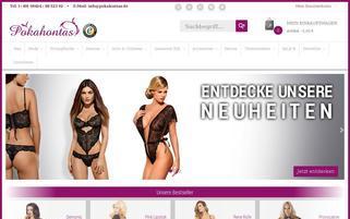 pokahontas-shop.de Webseiten Screenshot