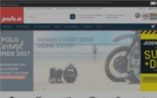 Polo Webseiten Screenshot