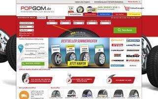 popgom.de Webseiten Screenshot