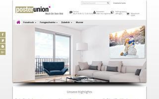 Poster Union Webseiten Screenshot
