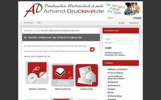 posterexperten.de Webseiten Screenshot
