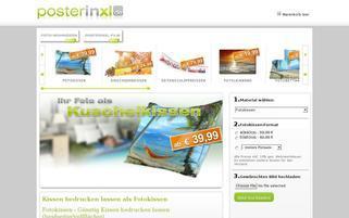 PosterinXL Webseiten Screenshot
