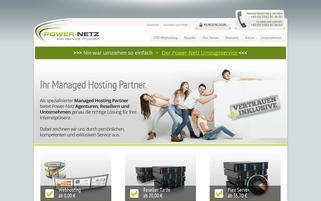 Power-Netz Webseiten Screenshot