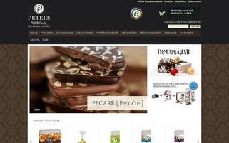 Pralinothek Webseiten Screenshot