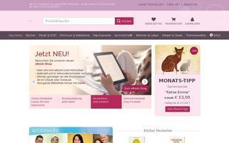 PranaHaus Webseiten Screenshot