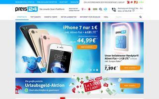 preis24 Webseiten Screenshot