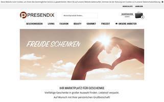 presendix.com Webseiten Screenshot