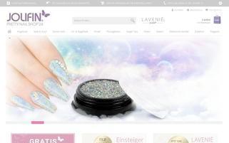 Pretty Nail Shop 24 Webseiten Screenshot