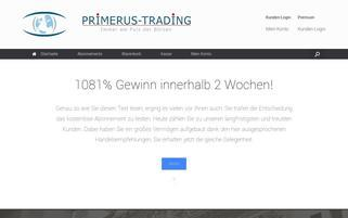 primerus-trading.com Webseiten Screenshot