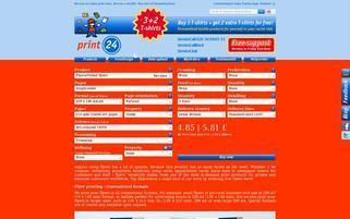 print24 Webseiten Screenshot