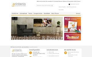 Printeria Webseiten Screenshot