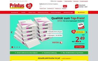 Printus Webseiten Screenshot