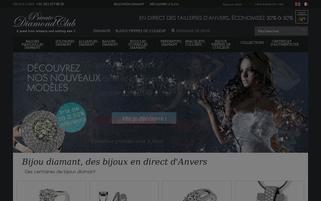 private-diamond-club.fr Webseiten Screenshot