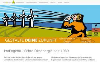 ProEngeno Webseiten Screenshot