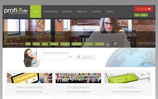 profi1.de Webseiten Screenshot