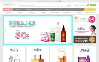 promocionesfarma.com Webseiten Screenshot