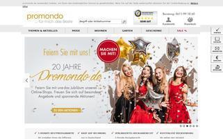 Promondo Webseiten Screenshot