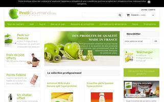 protigourmand.com Webseiten Screenshot