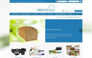 provicell.com Webseiten Screenshot