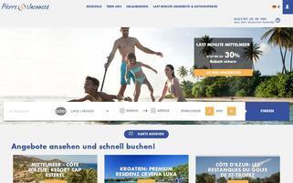 pv-holidays Webseiten Screenshot