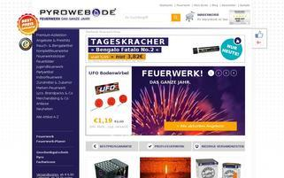 Pyroweb Webseiten Screenshot