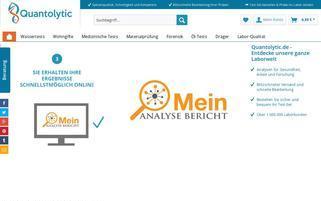 quantolytic.de Webseiten Screenshot