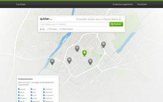 Quicker Webseiten Screenshot