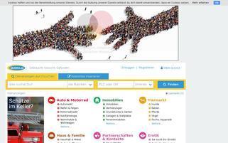 Quoka Webseiten Screenshot