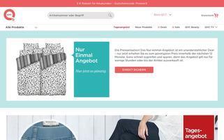 QVC Webseiten Screenshot