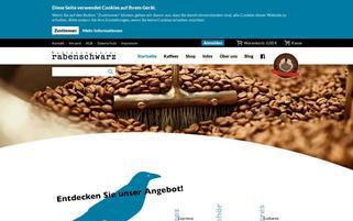 Rabenschwarz Webseiten Screenshot
