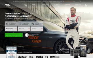 RaceChip Webseiten Screenshot